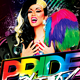 Pride Party Print Template Nulled