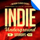 Indie Underground Poster / Flyer Template - GraphicRiver Item for Sale