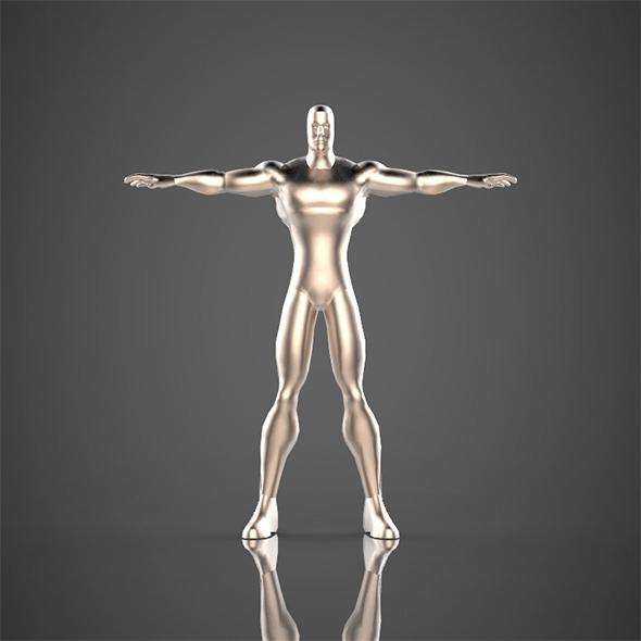 Solide Man - 3DOcean Item for Sale
