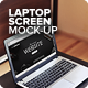 Laptop Screen Mock-Up - GraphicRiver Item for Sale