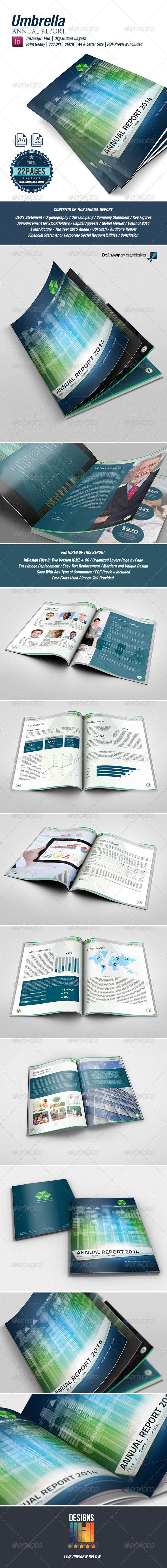 Umbrella Annual Report - Corporate Brochures