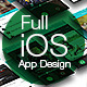 OS Phone Full Mobile App UI Kit Design - GraphicRiver Item for Sale