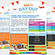 Summer Camp Kids Children Flyer  - GraphicRiver Item for Sale