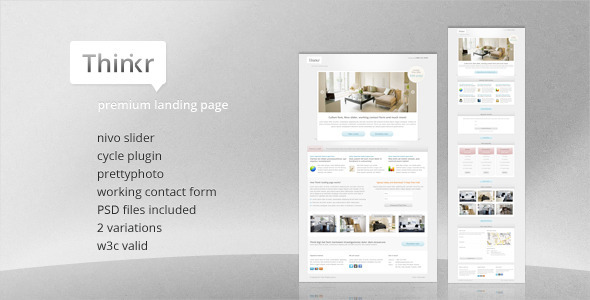 Thinkr Landing Page - Corporate Landing Pages