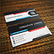 Creative Vision Modern Business Card Template - GraphicRiver Item for Sale