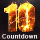 Fire Countdown - VideoHive Item for Sale