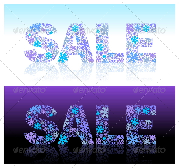 Christmas Sale - Vector Illustration - Seasons/Holidays Conceptual