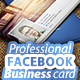 Professional Facebook Business card - GraphicRiver Item for Sale
