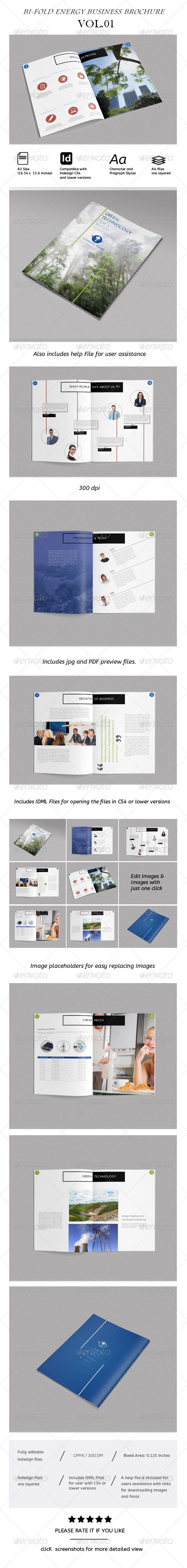 Corporate Bi-Fold Brochure Vol.01 - Corporate Brochures