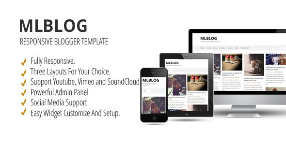 MLBLOG - Responsive Blogger Template - Blogger Blogging