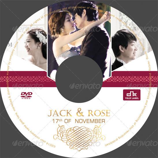 Wedding DVD Cover by Dkasparov | GraphicRiver