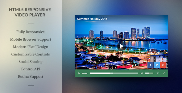 html5 video player template modern html5 responsive video player by rikdevos codecanyon