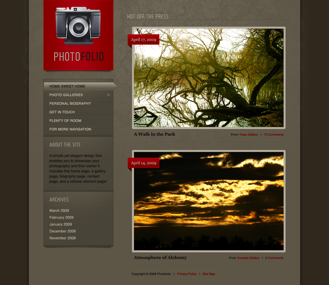 Free Download Photofolio Nulled Latest Version