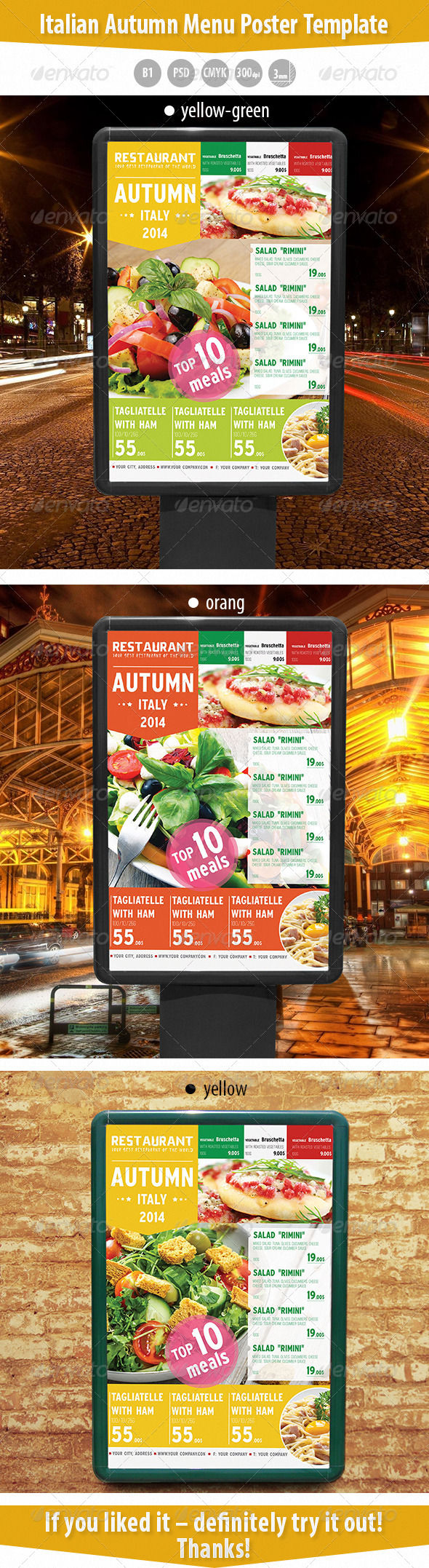 italian autumn menu poster template by kreatorr graphicriver
