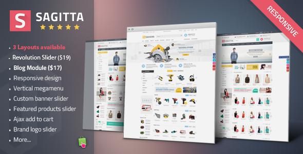 Sagitta - Mega Store Responsive PrestashopTheme - Fashion PrestaShop