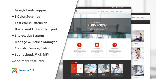 Stability :: Responsive Joomla! Template  - Business Corporate
