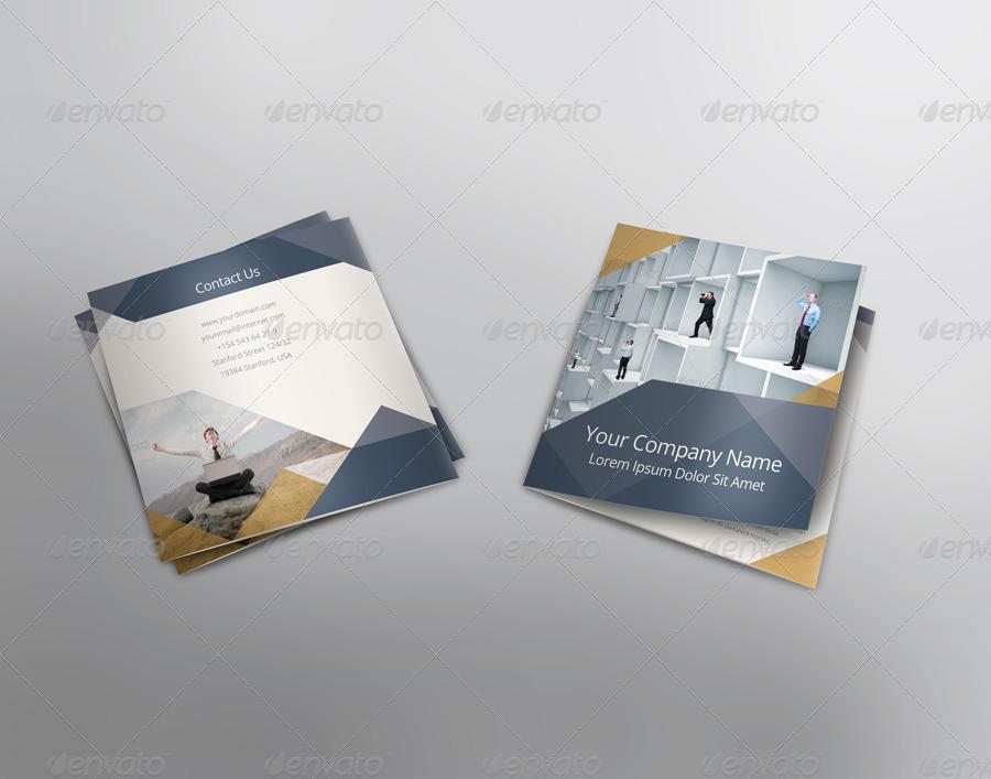 square tri fold brochure template by velvethorizon graphicriver