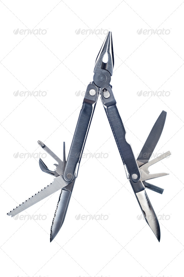 Multi purpose portable work tool - Stock Photo - Images