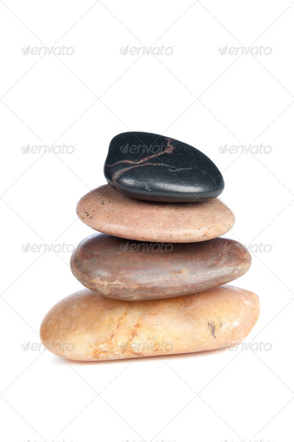 stack of rocks - Stock Photo - Images