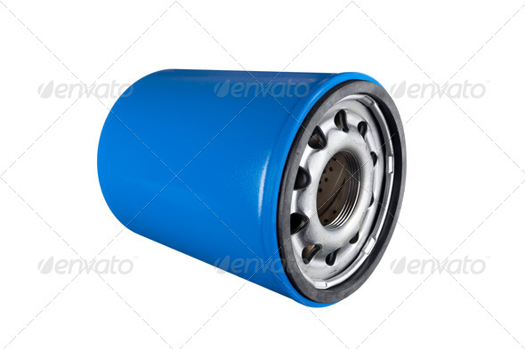 Oil filter - Stock Photo - Images
