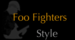Foo Fighters Style