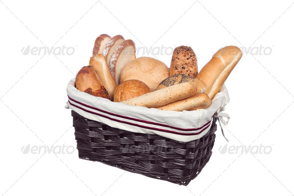 Bread basket - Stock Photo - Images