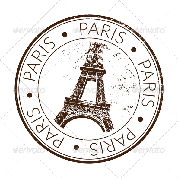 Paris Stamp Seal By Gksd777