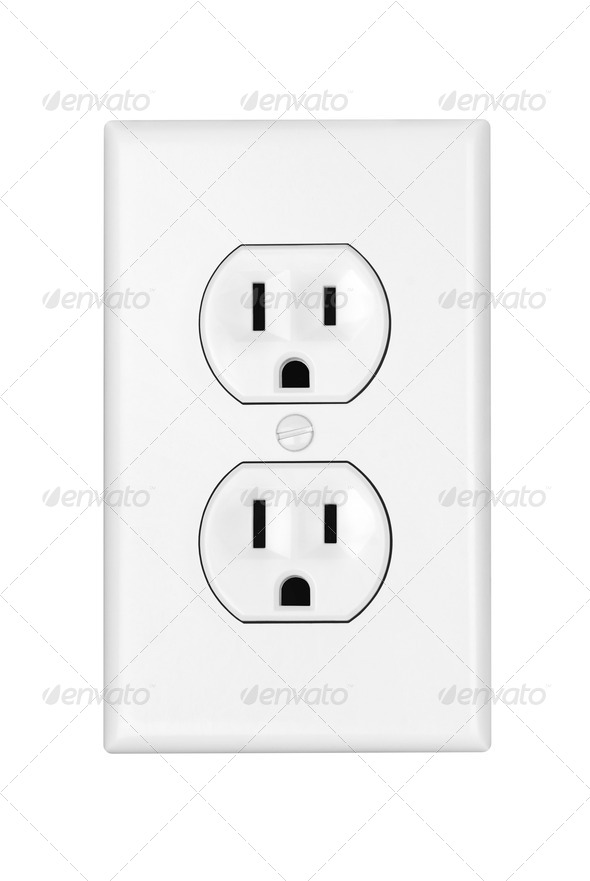 Power outlet - Stock Photo - Images