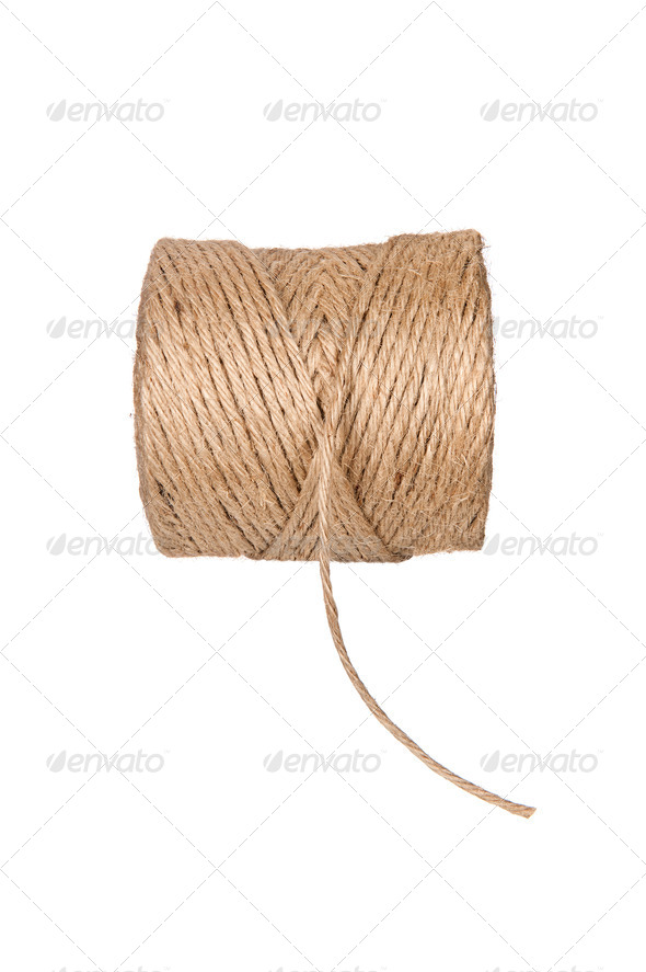 Roll of string - Stock Photo - Images