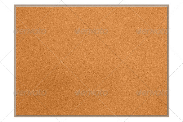 Cork board - Stock Photo - Images