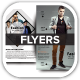 Men Fashion Style Clothing Flyers - GraphicRiver Item for Sale