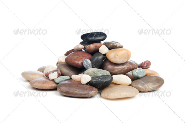 Pile of rocks - Stock Photo - Images