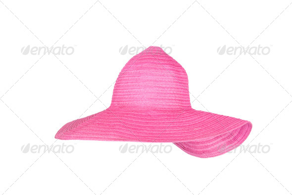 Beach sunhat - Stock Photo - Images