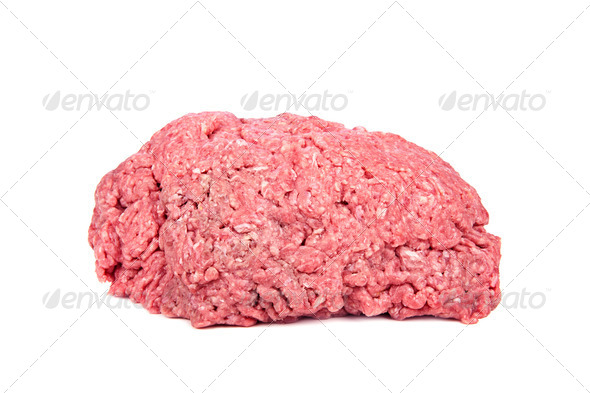 Raw ground beef - Stock Photo - Images