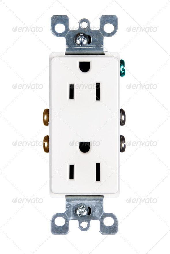 Electrical outlet - Stock Photo - Images