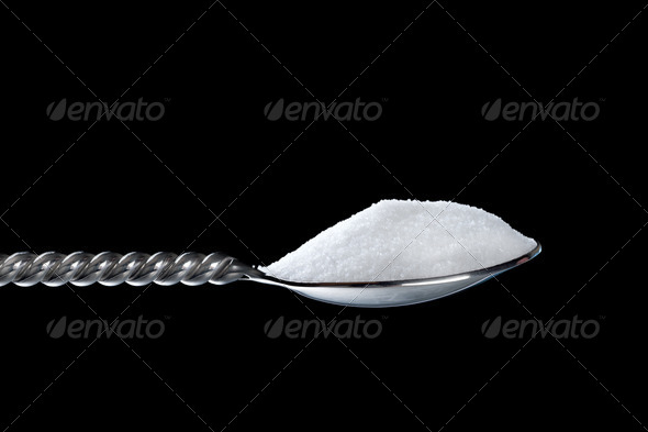 Spoonful of sugar - Stock Photo - Images