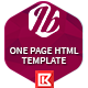Itobuz One Page HTML Template - ThemeForest Item for Sale