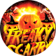 Freaky Scarry Halloween Night Party Flyer - GraphicRiver Item for Sale