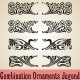 Combination Ornaments Jugend - GraphicRiver Item for Sale