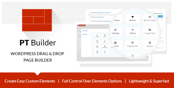 PT Builder | WP Drag & Drop Page Builder - CodeCanyon Item for Sale