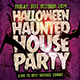 Haunted House Flyer Template PSD - GraphicRiver Item for Sale