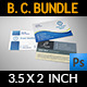 Corporate Business Card Bundle Vol.3 - GraphicRiver Item for Sale