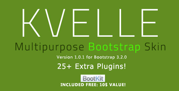 Kvelle - Multipurpose Bootstrap Skin - CodeCanyon Item for Sale