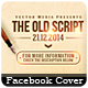 The Old Script - Facebook Cover - GraphicRiver Item for Sale