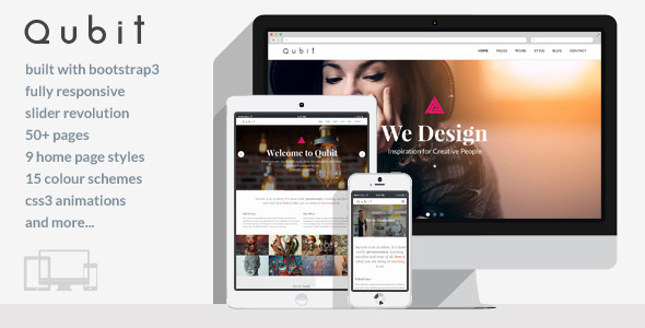 Qubit – Responsive MultiPurpose HTML5 Template