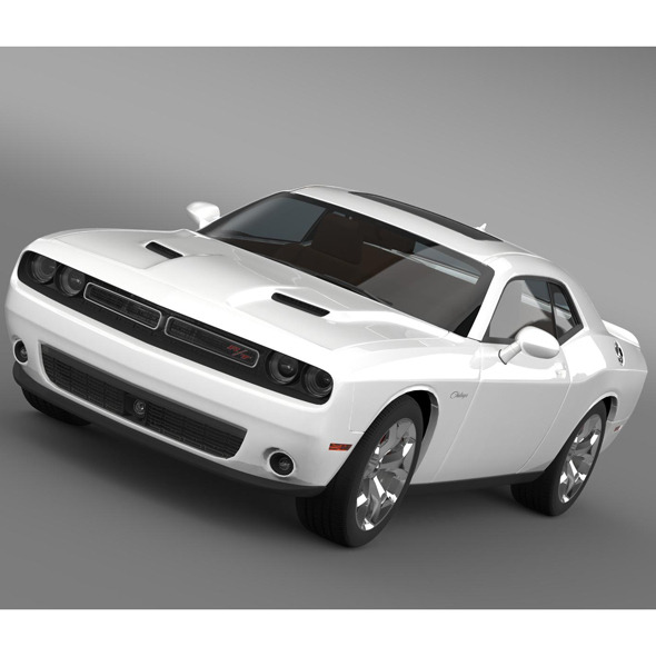 Dodge Challenger RT Classic LC 2015 - 3DOcean Item for Sale