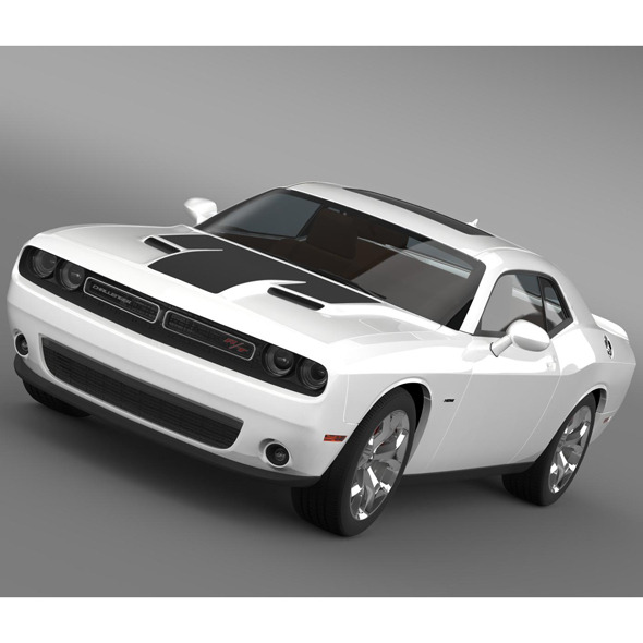 Dodge Challenger RT LC 2015 - 3DOcean Item for Sale