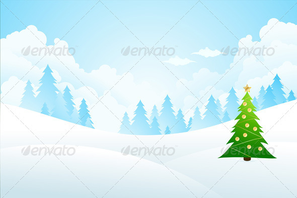 Winter Background - New Year Seasons/Holidays
