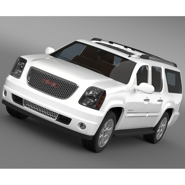 GMC Yukon XL Denali flexfuel 2011-2014 - 3DOcean Item for Sale