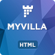 MyVilla - Real Estate HTML Landing Page - ThemeForest Item for Sale